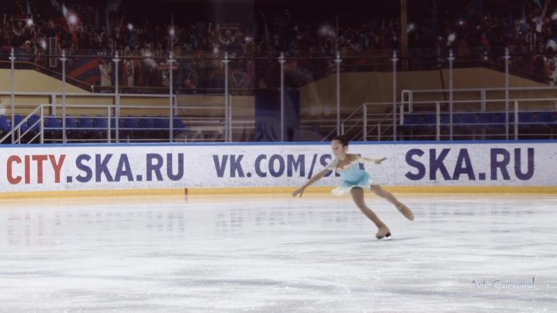 Анна Чугунова ШФК Елены Бережной 20180402 Ice Burevestnik G 3U 2008 09