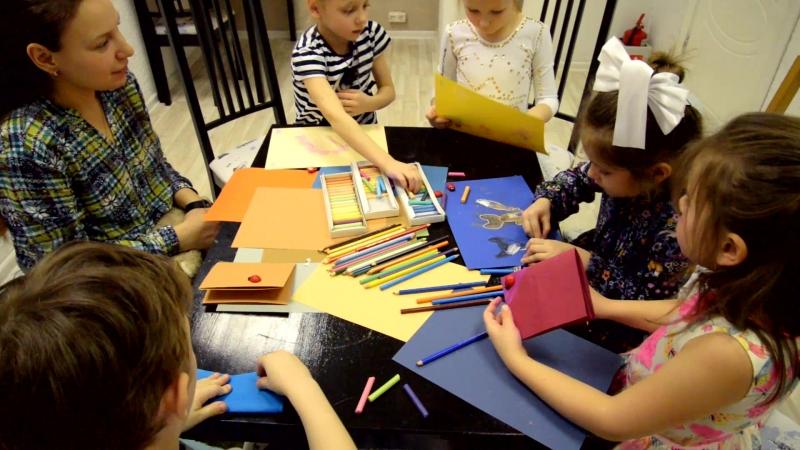 Занятия с детским психологом в Антикафе Белый Кролик.