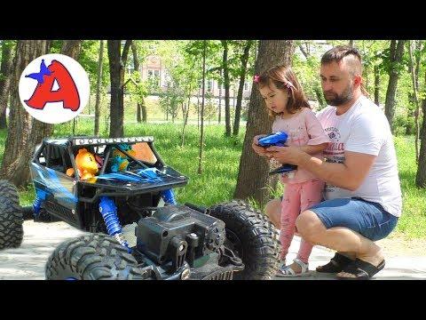 Новая игрушка багги Кот Хетчималс за рулем сбил конус