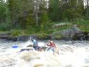 река Тумча (карелия) порог Яма