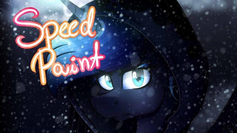MLP speedpaint - Luna's Future