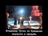 Владимир Путин на Крещение окунулся в прорубь