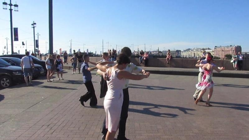 Самба Бальные танцы 15 07 2018 г на Стрелке В О вид 924