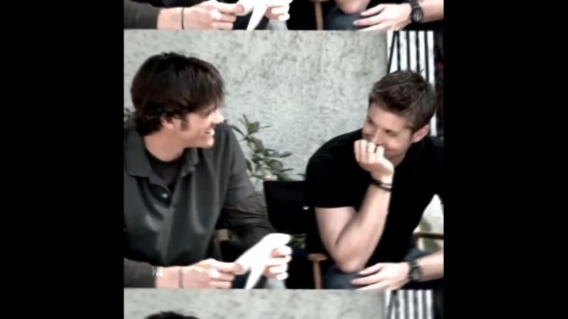 Jensen ackles x jared padalecki vine