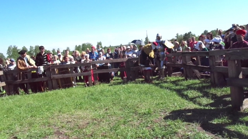Сибирский огонь 2018 бой на копьях