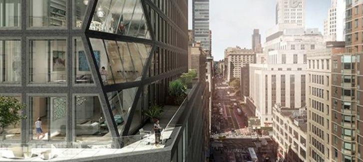 Рем Колхас в Нью-Йорке: как выглядит башня OMA на Манхеттене.