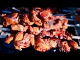 Мясные блюда из свинины и говядины  •  Шашлык в томатном маринаде на МАЕВКУ! - ну, оОчень вкусный!