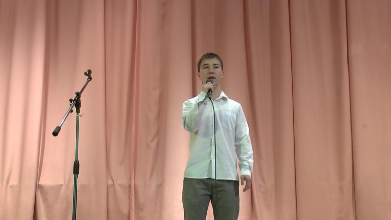 Песня из рок-оперы Юнона и Авось. Исп. Артём Лавров ученик ВЭШС Эксклюзив