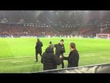 Эмоции Массимо Карреры после забитого гола
