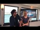 Отрывок из интервью Боба и Элайзы для Extra TV