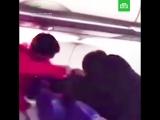 Драка на борту рейса Москва — Красноярск
