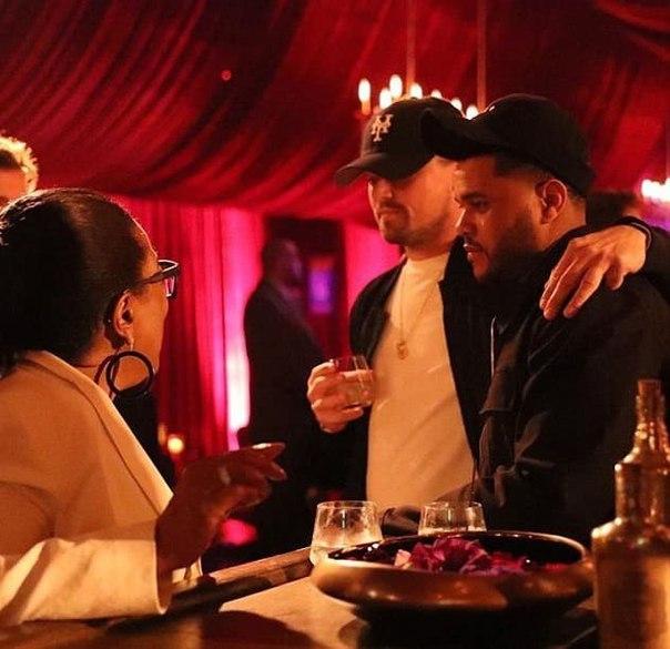 Опра Уинфри перепутала Леонардо Ди Каприо с  Тимберлейком на вечеринке по случаю 60-летия Эллен Дедженерес.