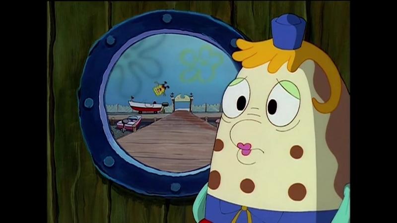 Губка Боб Квадратные Штаны _ Экзамен по вождению лодки, школа управления катерами Миссис Паф.