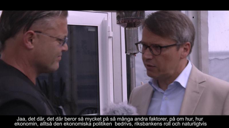 En intervju med Göran Hägglund om ekonomi