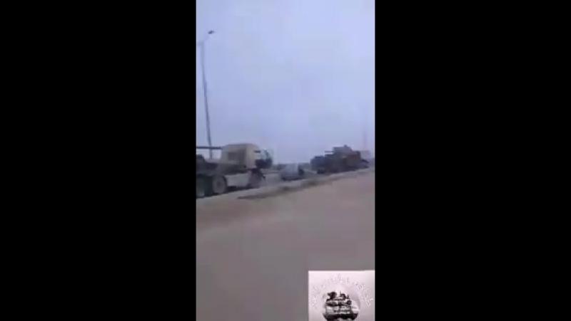 Ещё одна колонна боевой техники САА прибыла в Восточную Гуту
