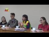 Сюжет Телеканала «Оплот ТВ» о встрече участников XIX Всемирного фестиваля молодежи и студентов от г. Макеевки с молодежным актив