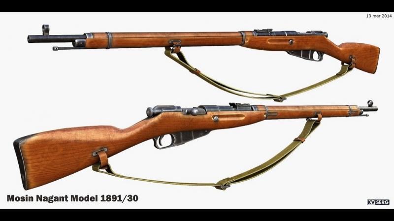 Д_ф «Оружие Победы» - Винтовка Мосина.Историческое оружие.