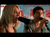 Антон и Виктория Макарские Грузинская песня (#LIVE Авторадио)