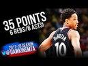 DeMar DeRozan Full Highlights ECR1 Game 4 Toronto Raptors vs Wizards 35 6 6 FreeDawkins