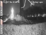 Вечный огонь и цемент Неизвестные заливают Вечный огонь в Киеве