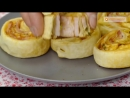 Объедение которое можно приготовить всего за 30 минут Слойки с ветчиной и сыром