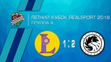 Либерти Мск 1-2 Русский Стандарт Летний Кубок RealSport Обзор матча