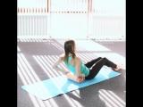Простое упражнение для идеальной осанки и талии