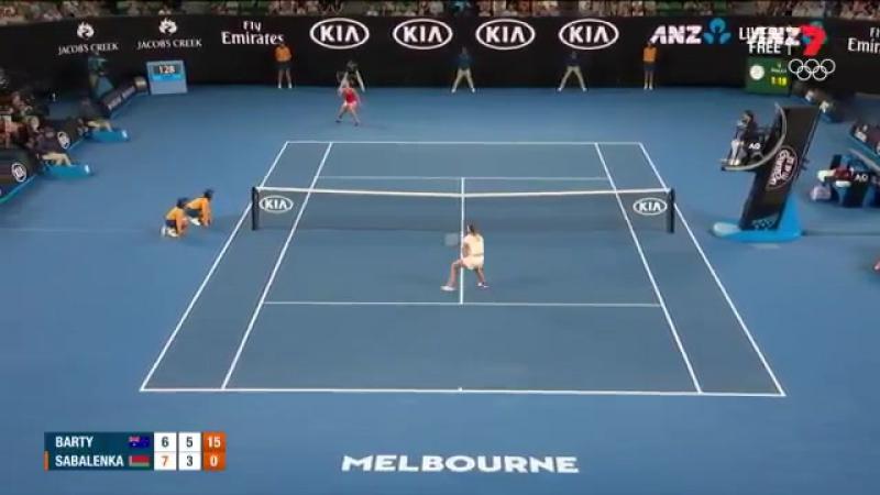 1xBet: Зрители изображали стоны белорусской теннисистки