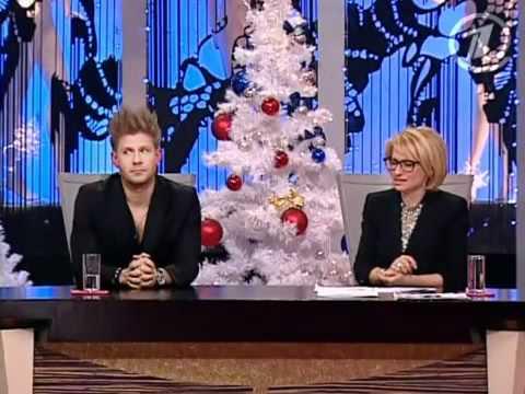 23 12 2010 Модный приговор на Первом Митя и певица Слава