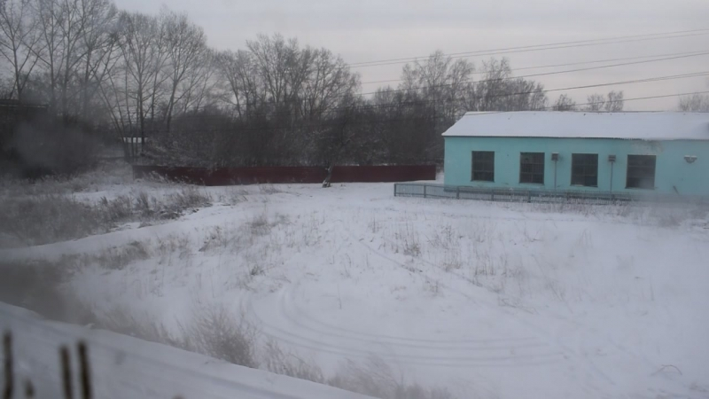 Электропоезд ЭД9М-0039. Покатушки от 10км до Укладочного.