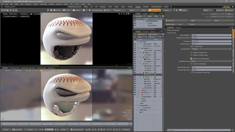 MODO 12.1 Direct Modeling Enhancements