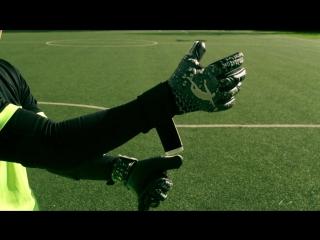 Brave GK Power Train Black Negative   обзор вратарских перчаток