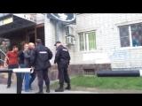 Драка пьяных мужиков с полицейскими _ Drunk Russian rednecks vs Russian police