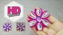 DIY Tutorial Bros Dari Pita Satin Kanzashi Flower HD Tutorial