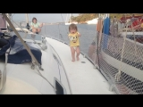 2018 Юнга Олеся впервые на новой яхте