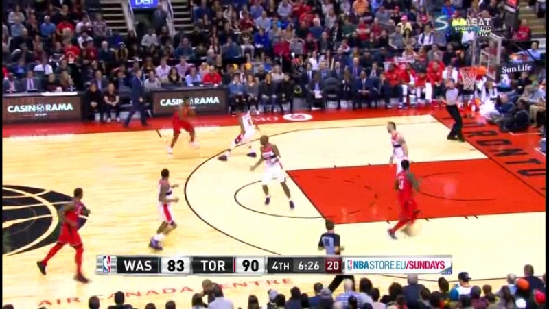 NBA 2016-2017 / RS / 19.11.2017 / Washington Wizards vs Toronto Raptors RU, Viasat HD