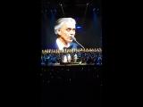 Концерт Андреа Бочелли апрель 2018
