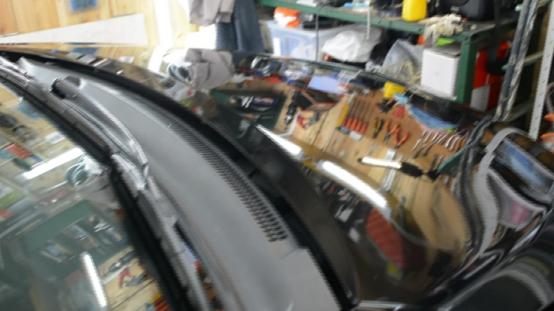 Toyota Corolla после полировки