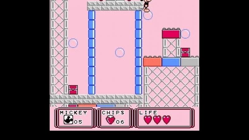 Mickey Mouse III - Yume Fuusen мики маус 3 Прохождение