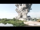 Демонтаж аварийных конструкций взрывным способом в Житковичский районе