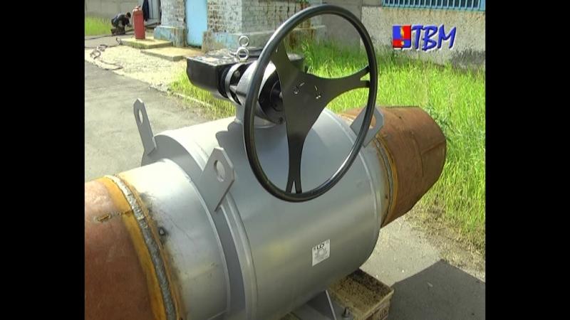 Новые трубы и запорная арматура Мончегорская теплосеть продолжает ремонтные работы