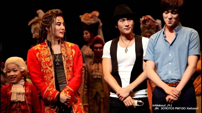 JYJ 김준수 110703 PM 700 Mozart! xiahzart! curtain call - Finale -