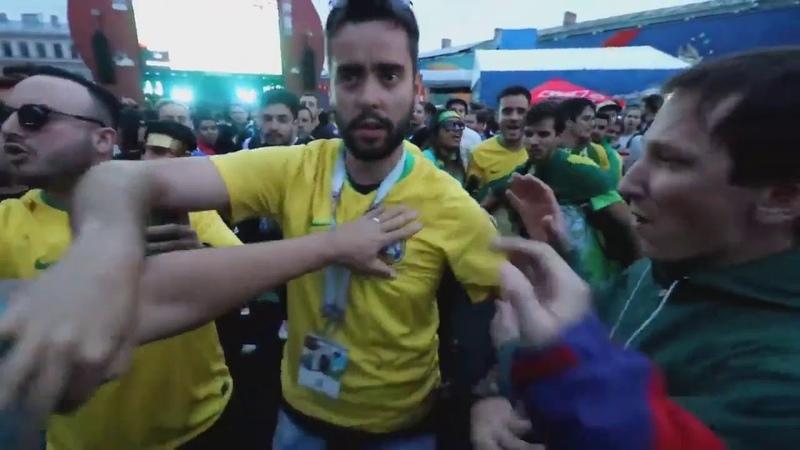 MESSI TCHAU E 1 MINUTO DE SILÊNCIO - BRASILEIROS DEIXANDO ARGENTINOS IRRITADOS - COPA 2018