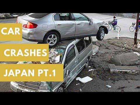 JAPAN CAR CRASHES BAD DRIVERS Очень плохие водители в Японии