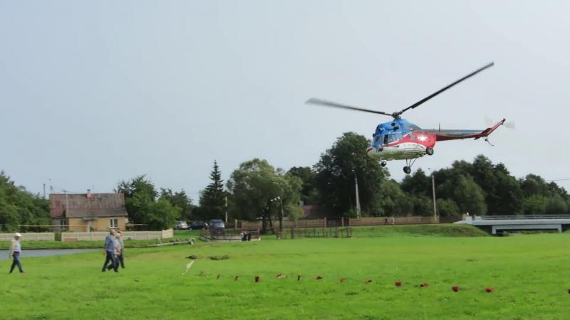 Полеты на вертолете Lidbeer-2017