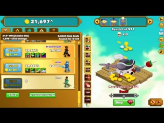 [ISAB] Clicker Heroes Gameplay - The New Ancient! Revolc, the Ancient of Luck