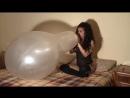 Rebekah looner - Rebekah Cattex long neck 32 inch crystal clear blow to pop looner