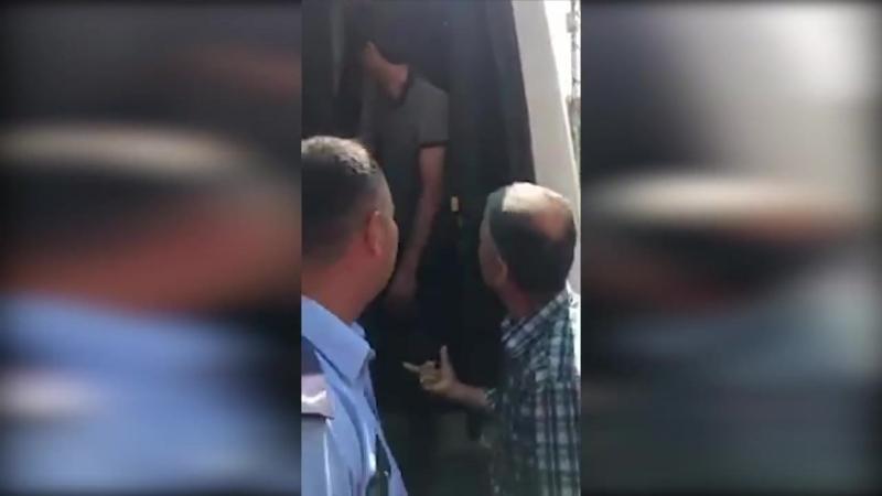 В Хатае остановлены 4 автобуса из Африна