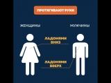 Мужчины и женщины по-разному мыслят, действуют и ходят по ..