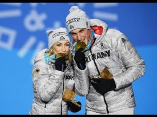 Алёна Савченко и Бруно Массо (олимпийские игры 2018)